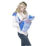 CHINTAKA Gendongan Samping Bulat + Topi Bordir [CBG 430100B] - Blue - Carrier and Sling
